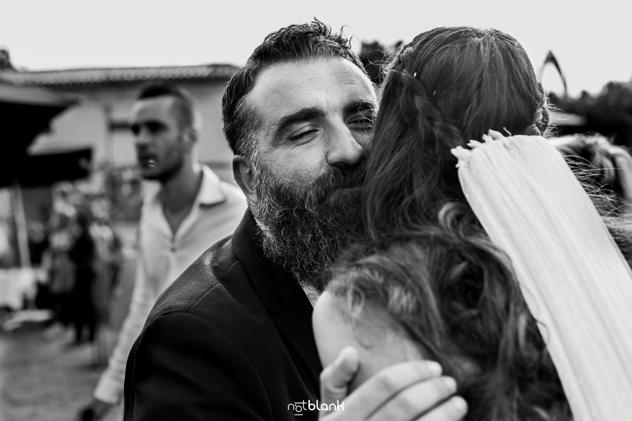 Notblank-Boda Tematica-Star Wars-Malaposta-Portugal-Fotógrafo de boda-Invitados-Emoción-Sonrisa-Abrazo