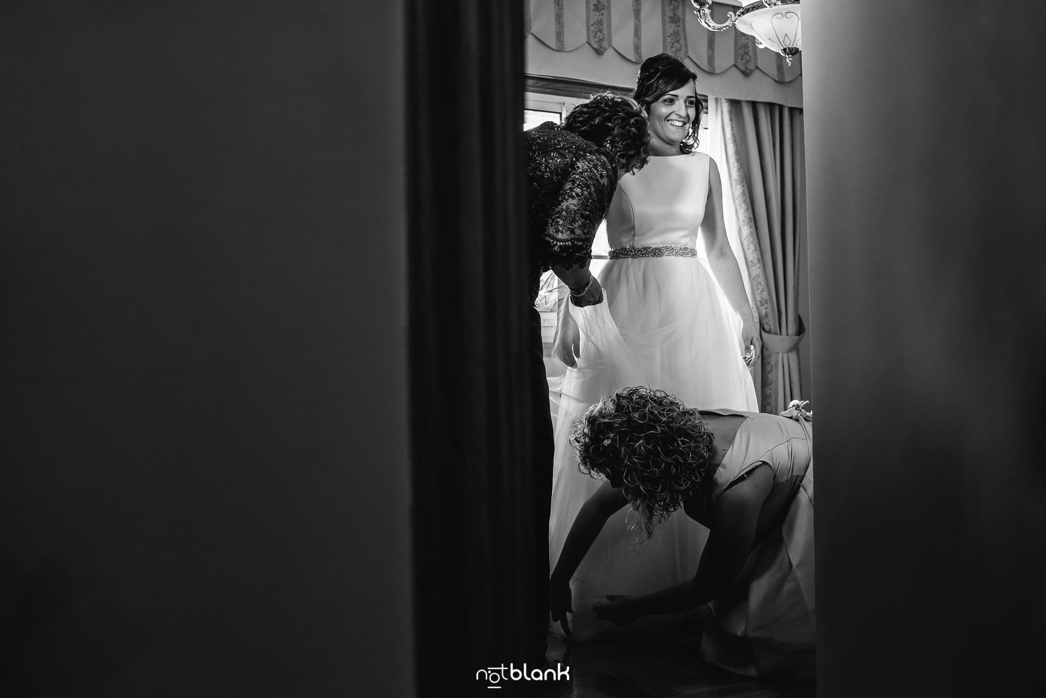 Boda de la Pareja Jessica y Rubén en San Salvador de Budiño y Casa Juan en O Rosal, realizado por los fotografos de boda de Pontevedra Notblank