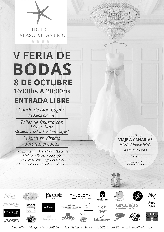 Cómo organizar mi boda paso a paso | V Feria de bodas Talaso Atlantico | Notblank Fotógrafos de Boda
